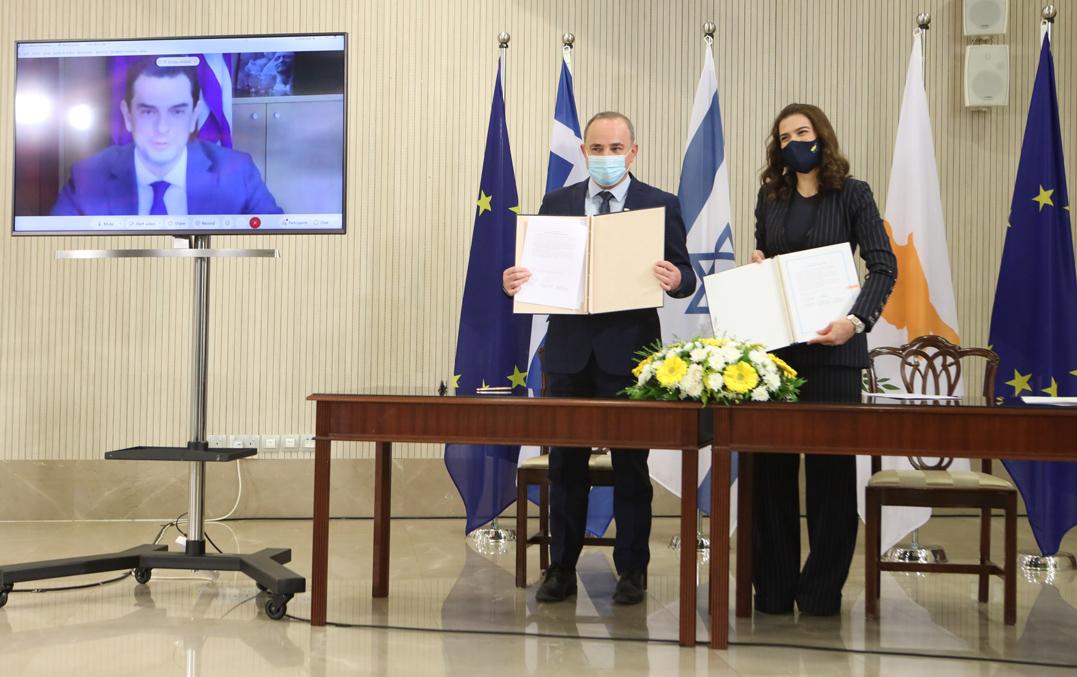 Εντυπωσιακή εξέλιξη: Ισραήλ και Κύπρος ενώνουν δυνάμεις, έπεσαν υπογραφές για το φυσικό αέριο