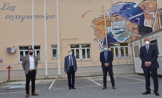 ΕΛΠΕ: Διαρκής στήριξη στο ΕΣΥ και στα νοσοκομεία της Θεσσαλονίκης στη μάχη κατά της πανδημίας, με κρίσιμο ιατροτεχνολογικό εξοπλισμό