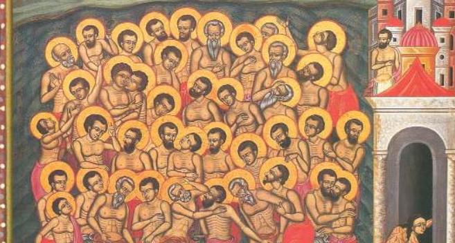 Live streaming: Άγιοι Σαράντα Μάρτυρες – Όρθρος & Θεία Λειτουργία