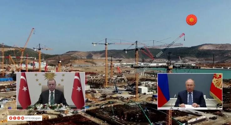Ερντογάν και Πούτιν γεμίζουν πυρηνικά εργοστάσια το Ακούγιου: Βόμβα στη Μεσόγειο