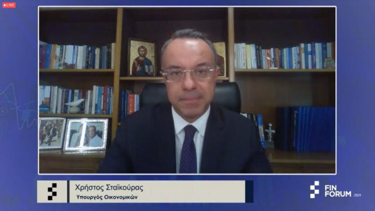Χρ. Σταϊκούρας στο Fin Forum 2021: 750 εκατ. ευρώ κοστίζει κάθε εβδομάδα lockdown