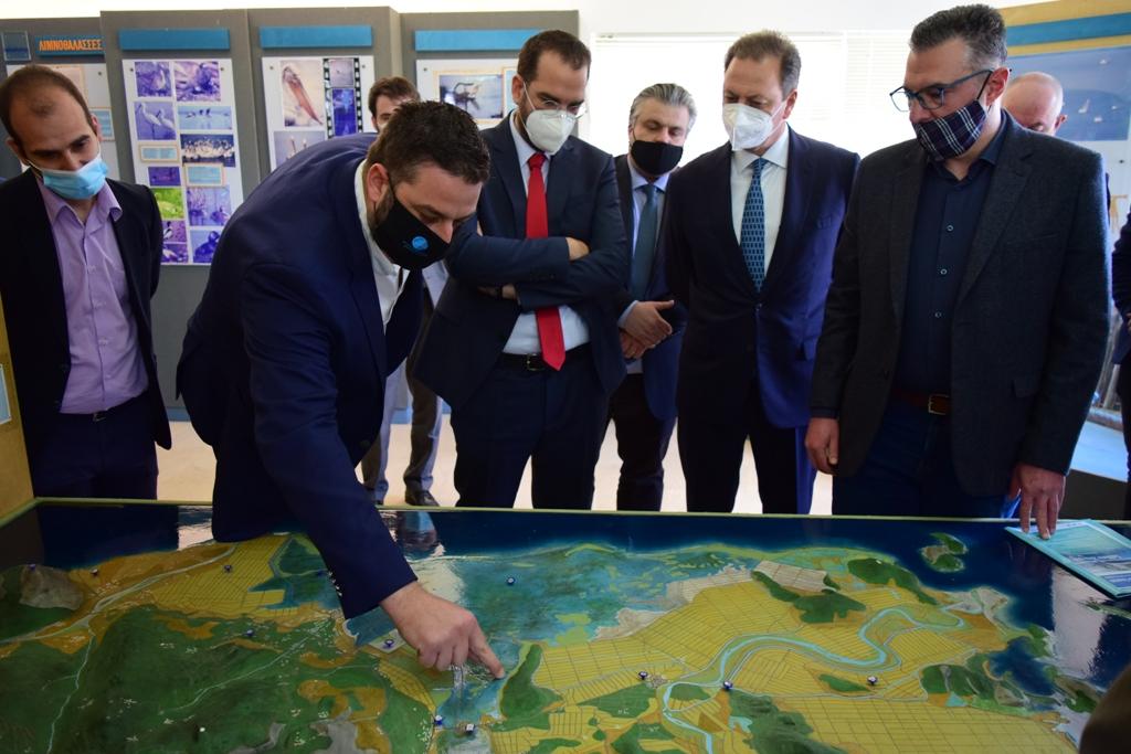 Λιμνοθάλασσα Αιτωλικού – Μεσολογγίου: Έργα  ύψους 21,4 εκ. € ανακοίνωσε ο Σπ. Λιβανός