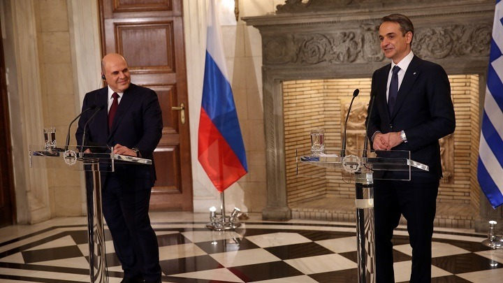 Κυρ. Μητσοτάκης – M. Μισούστιν: Οι σχέσεις των δυο χωρών μας έρχονται από πολύ μακριά και είναι στο χέρι μας να βαδίσουν και πολύ μακριά