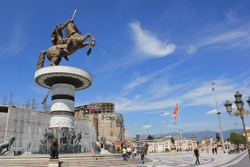 Δήμαρχος των Σκοπίων: Να φύγει το άγαλμα