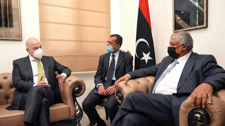 Ν. Δένδιας σε αναπληρωτή πρωθυπουργό Λιβύης: Σας ευχαριστώ για την ευθεία τοποθέτησή σας για το παράνομο τουρκολιβυκό «μνημόνιο»