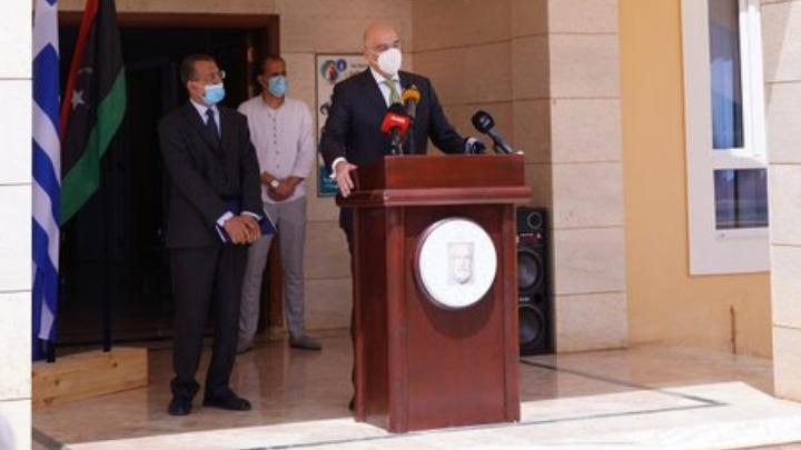 Ο Ν. Δένδιας στην ελληνική κοινότητα Βεγγάζης: Η Ελλάδα είναι εκ νέου παρούσα στη Λιβύη και θα παραμείνει