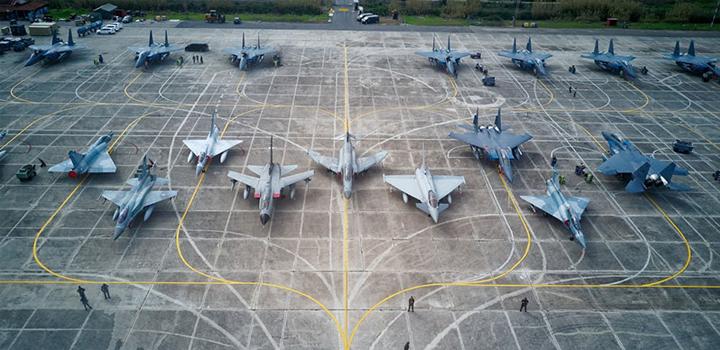 Ανδραβίδα: Αρχίζει η αεροπορική άσκηση «Ηνίοχος 21»