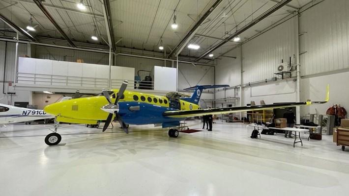 """Τα αεροσκάφη του ΕΚΑΒ, δωρεά του ιδρύματος """"Σταύρος Νιάρχος"""", ξεκινούν για την Ελλάδα"""
