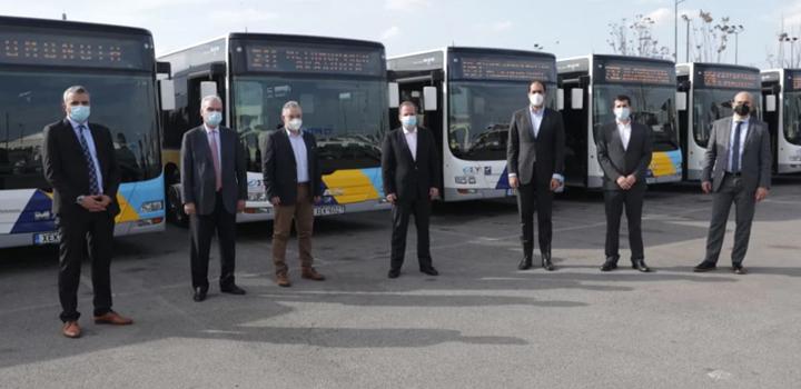Κώστας Καραμανλής: Από την Παρασκευή αρχίζουν να βγαίνουν στους δρόμους της Αθήνας και τα νέα λεωφορεία με leasing