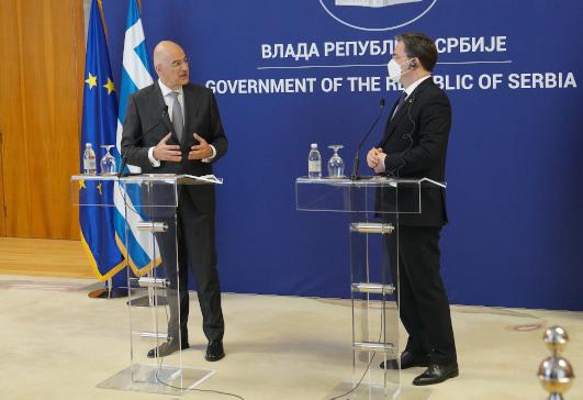 Ν. Δένδιας: Στα Βαλκάνια πρέπει να χτίζονται γέφυρες και όχι να καλλιεργείται η μισαλλοδοξία