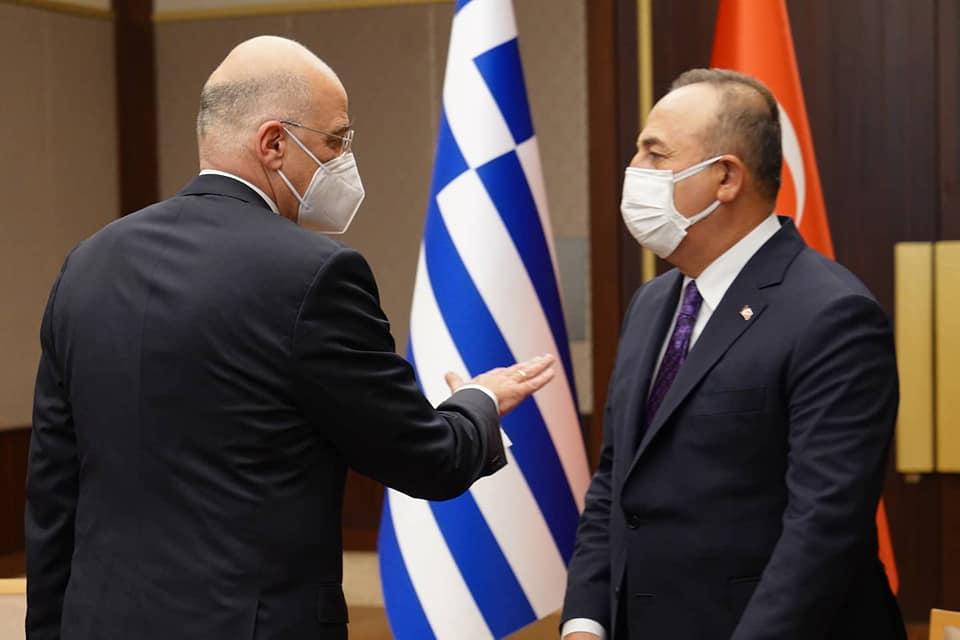 Επιτέλους τέλος οι τεμενάδες στον Ερντογάν – Ο Νίκος Δένδιας σήκωσε ψηλά τη σημαία μέσα στην Άγκυρα