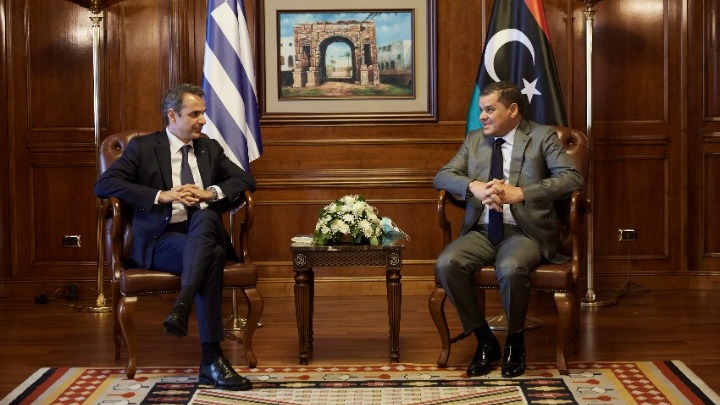 Κυρ. Μητσοτάκης: Θεμέλιο της νέας αφετηρίας στις σχέσεις Ελλάδας- Λιβύης, η πίστη στις αρχές της διεθνούς νομιμότητας