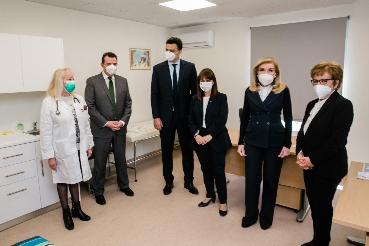 Εγκαίνια της νέας πτέρυγας του Κέντρου Υγείας Σαλαμίνας