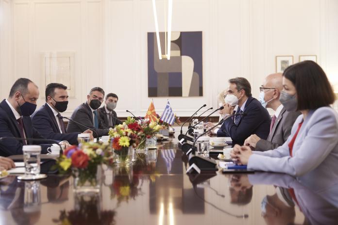 Κυρ. Μητσοτάκης σε Ζ. Ζάεφ: Περαιτέρω ενίσχυση των διμερών μας σχέσεων, με έμφαση στην οικονομία, ειδικά στην ενέργεια