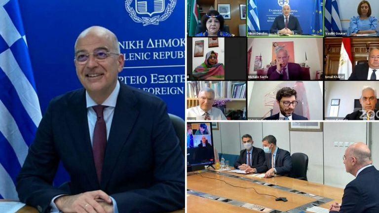 Νίκος Δένδιας: Η Ελλάδα θα συνεχίσει να διαδραματίζει τον γεφυροποιό της ρόλο μεταξύ της Ευρώπης και της Αφρικής