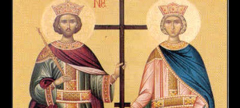 Ζωντανά: Αγιος Κωνσταντίνος και Αγία Ελένη οι Ισαπόστολοι – 'Ορθρος και Θεία Λειτουργία