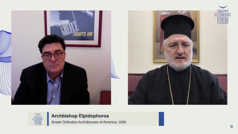 Αρχιεπίσκοπος Αμερικής Ελπιδοφόρος: Καμία σύγκρουση επιστήμης και πίστης στην περίοδο της πανδημίας – Να αναθεωρήσει η Τουρκία της απόφασή της για την Αγία Σοφία