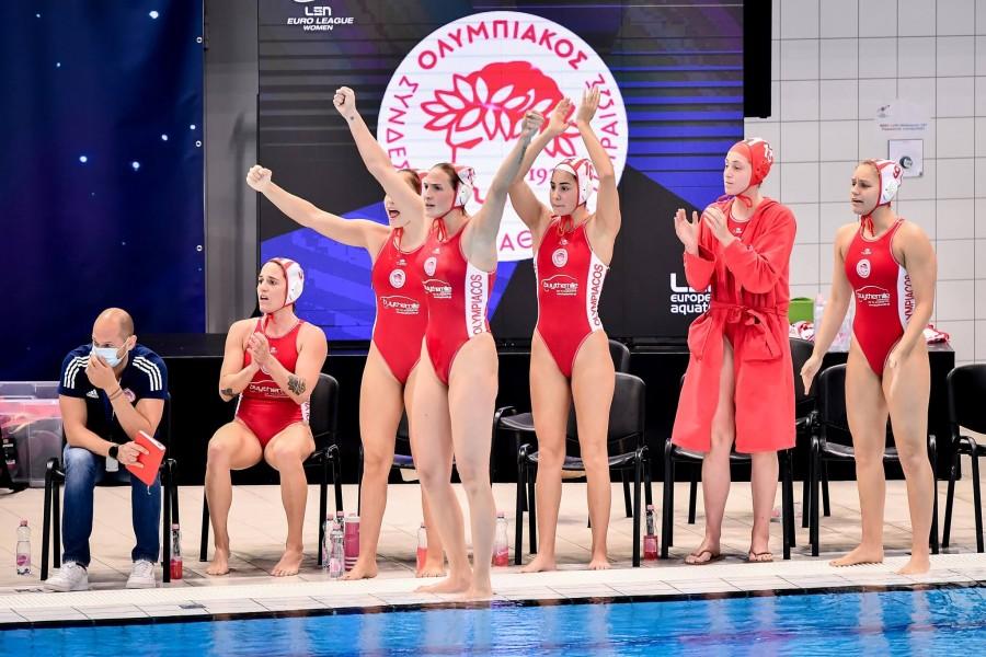 Θρίαμβος του Ολυμπιακού, πρωταθλητής Ευρώπης, 7-6 τη Ντουναϊσβάρος στον τελικό