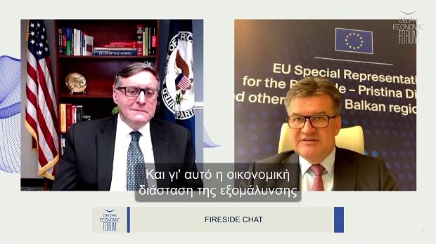 Κοινός στόχος Ε.Ε. – ΗΠΑ η ένταξη των χωρών των Δυτικών Βαλκανίων στην Ε.Ε.