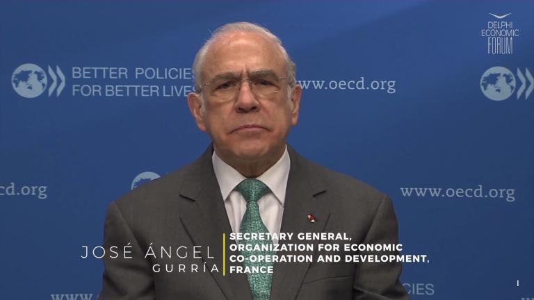 José Ángel Gurría: Το παγκόσμιο ΑΕΠ προβλέπεται να αυξηθεί κατά 5,6% το 2021