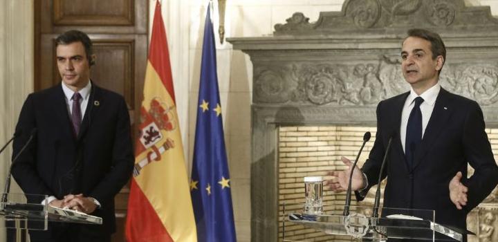 Μητσοτάκης: Ισπανία και Ελλάδα ενδιαφέρονται για τη νομιμότητα στην κοινή μας θάλασσα