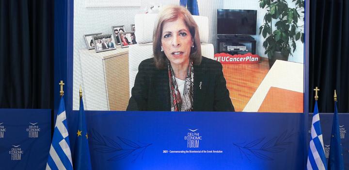 Στέλλα Κυριακίδου: Η πανδημία μας έδειξε σε ποια σημεία πρέπει να δώσει έμφαση η κοινωνία μας