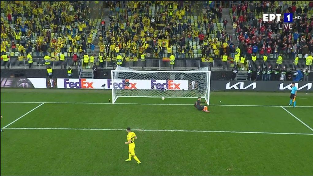 H Βιγιαρεάλ κατέκτησε το Europa League, 11-10 την Μάντσεστερ Γιουνάιτεντ στα πέναλτι