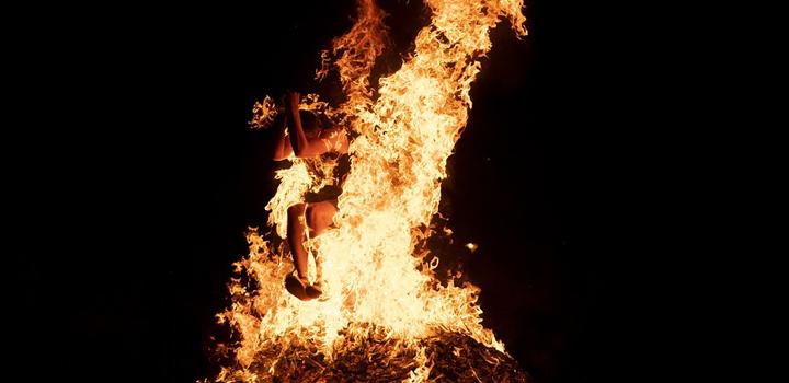 """""""Το έθιμο του Κλήδονα"""" σήμερα και ανάβουν φωτιές σε Ροβιές και Αιδηψό"""