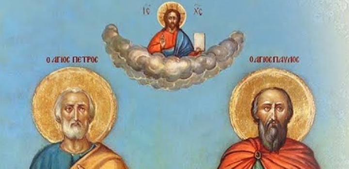 LIVE: Οι 'Αγιοι Απόστολοι Πέτρος και Παύλος – Εσπερινός & Νυχτερινή Θεία Λειτουργία