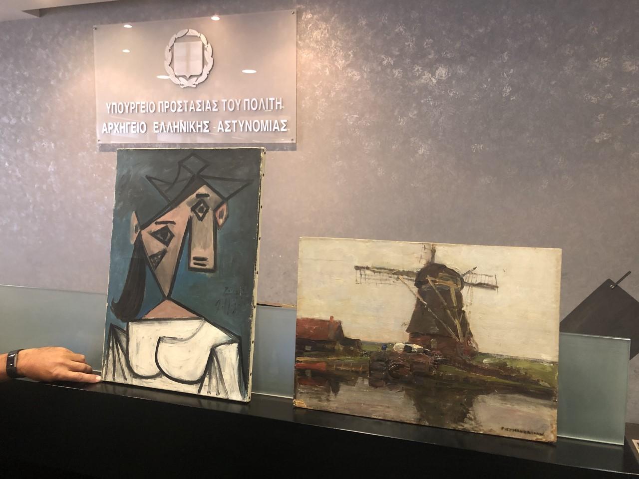 Εξιχνίαση διακεκριμένης κλοπής από την Εθνική Πινακοθήκη