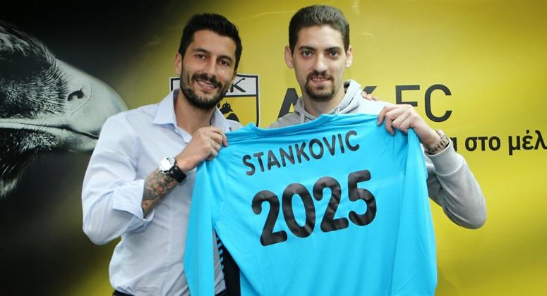 Στάνκοβιτς: Ο νέος πορτιέρο της ΑΕΚ