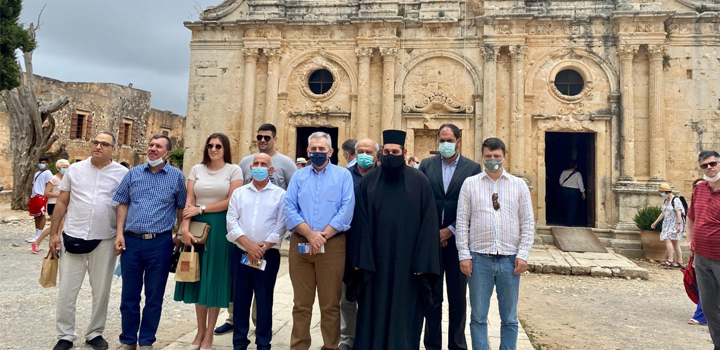Μ. Χαρακόπουλος από το Αρκάδι: Τα μοναστήρια φάροι ελευθερίας και αδούλωτου πνεύματος!