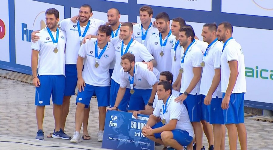 Χάλκινο μετάλλιο για την Ελλάδα. 10-8 την Ιταλία στην Υδατοσφαίριση!