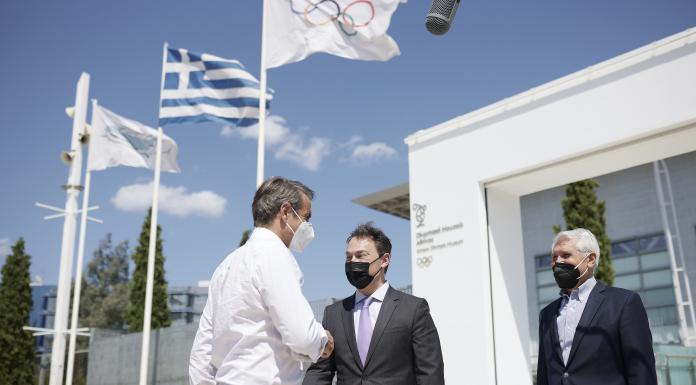 Κυρ. Μητσοτάκης: η χώρα που γέννησε τους Ολυμπιακούς Αγώνες απέκτησε ένα Μουσείο αντάξιο της παράδοσης και της ιστορίας των Αγώνων (video)