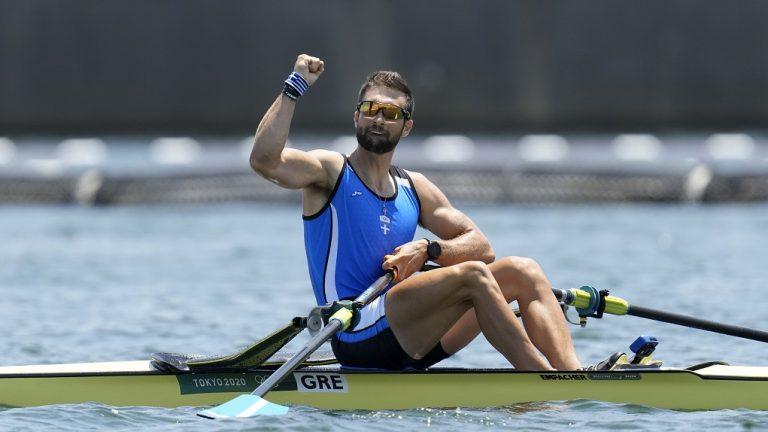 «Μυθικός» Ντούσκος, κατέκτησε το χρυσό και χάρισε το πρώτο μετάλλιο στην Ελλάδα