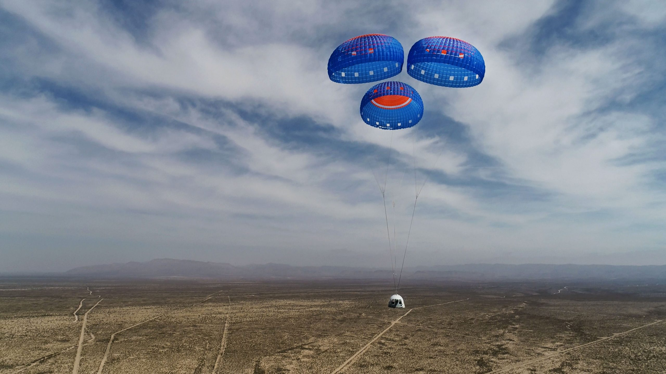 O  Τζεφ Μπέζος σε ένα μαγικό ταξίδι 10 λεπτών στο διάστημα (video)