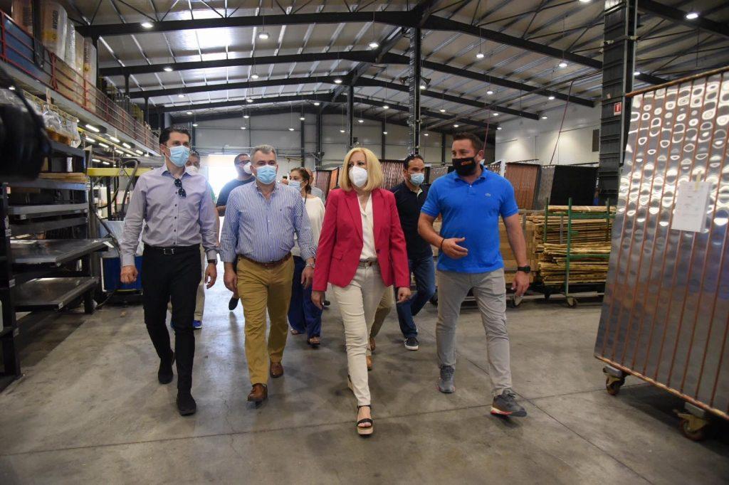 Εξαγωγικές επιχειρήσεις στην Αργολίδα επισκέφθηκε η Φ. Γεννηματά