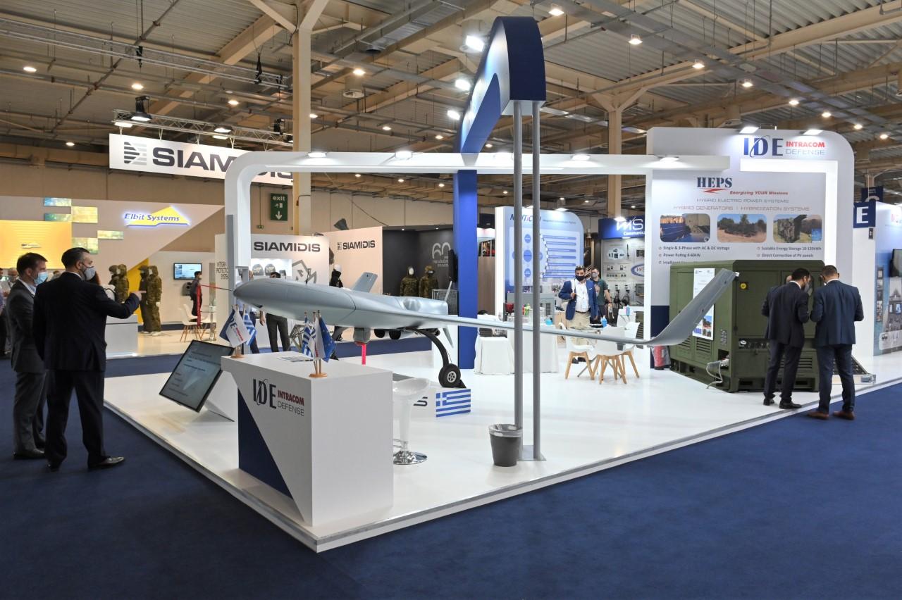 Drone και Υβριδικά Συστήματα από την INTRACOM DEFENSE στην DEFEA 2021