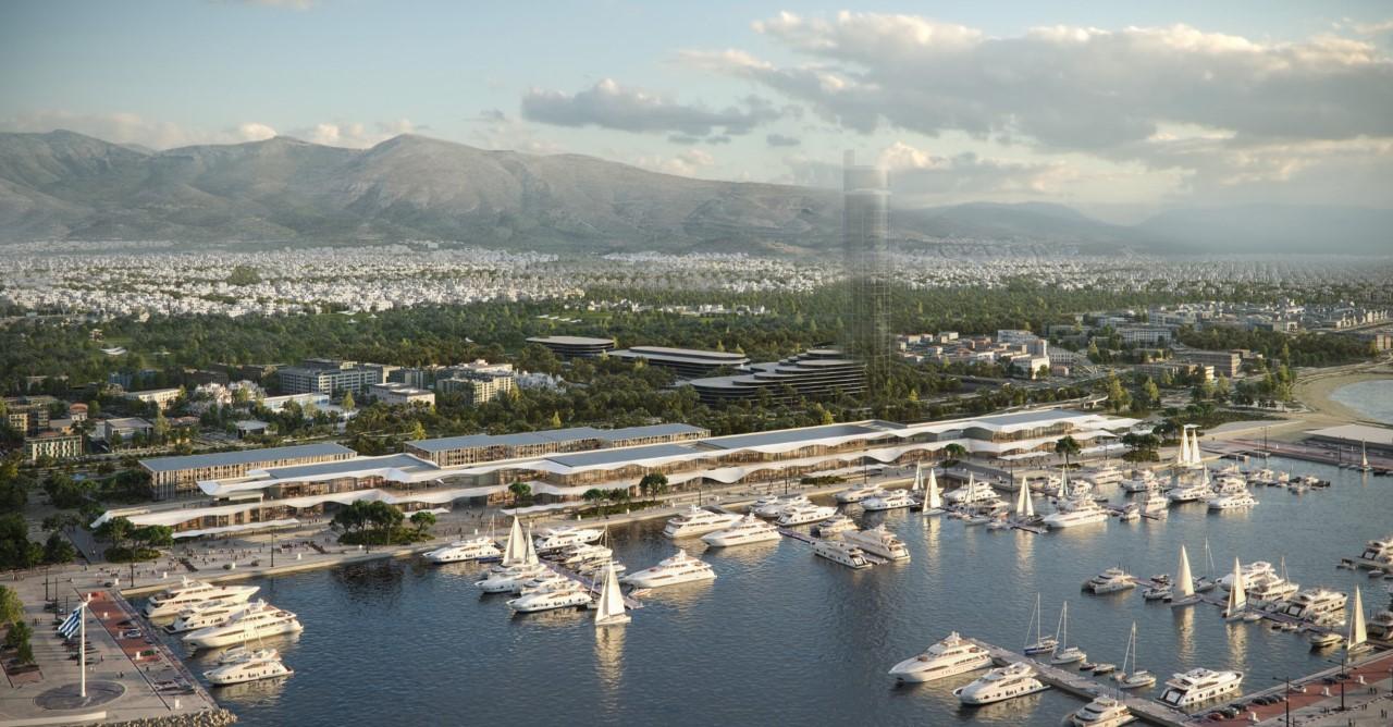 Lamda Development: Παρουσίαση Παράκτιου Μετώπου & Marina Galleria (φωτο – video)