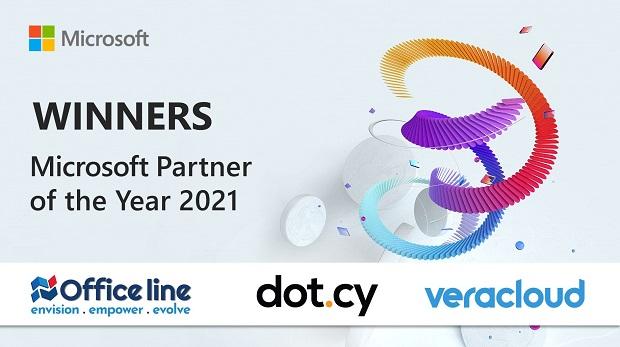 Η Microsoft βράβευσε τους Partner of the Year