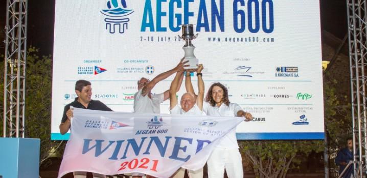 AEGEAN 600: Με απόλυτη επιτυχία ολοκληρώθηκε η διεθνής διοργάνωση των 600 ναυτικών μιλίων