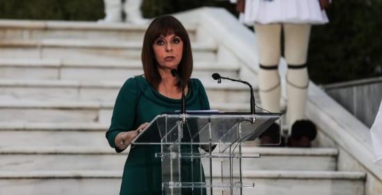 Κ. Σακελλαροπούλου: Η συμπαράστασή μας στην Κύπρο είναι απόλυτη. Το ίδιο και η αποφασιστικότητά μας απέναντι στην τουρκική παραβατικότητα και επιθετικότητα