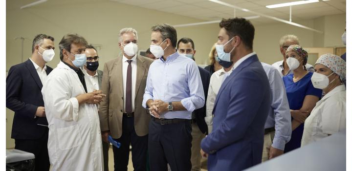 Κυρ. Μητσοτάκης: Ερχόμαστε αντιμέτωποι με μία πανδημία των ανεμβολίαστων
