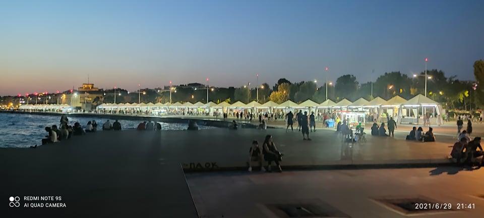 Ικανοποιητικά κύλησεη πρώτη εβδομάδα λειτουργίας του 40ου Φεστιβάλ Βιβλίου Θεσσαλονίκηςκαι συνεχίζουμε