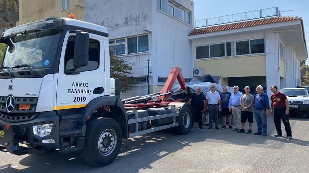 Έφτασε η βοήθεια του Δήμου Παλλήνης στους πυρόπληκτους της Βόρειας Εύβοιας