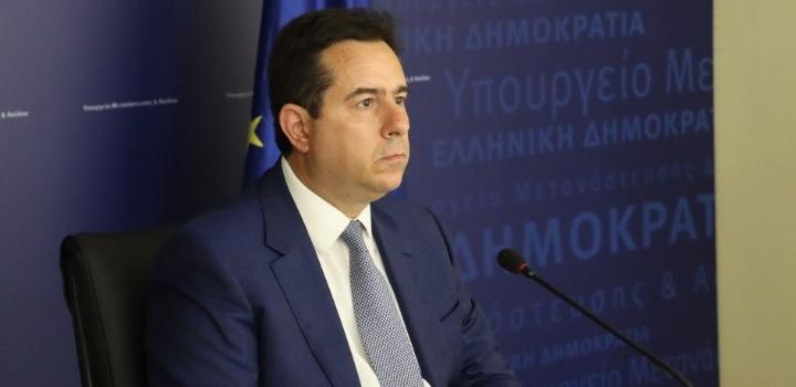 """Ν. Μηταράκης στη """"Die Welt"""": """"Δεν μπορούμε να επιτρέψουμε στους διακινητές να αποφασίζουν ποιος θα έρχεται σε εμάς"""""""