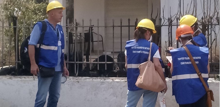 Το Υπουργείο Υποδομών και Μεταφορών ξεκίνησε την απογραφή και καταγραφή ζημιών