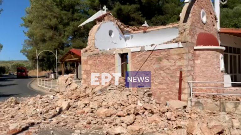 Σεισμός Κρήτη – 5,8 Ρίχτερ: 65χρονος ο νεκρός στο Αρκαλοχώρι, 11 οι τραυματίες