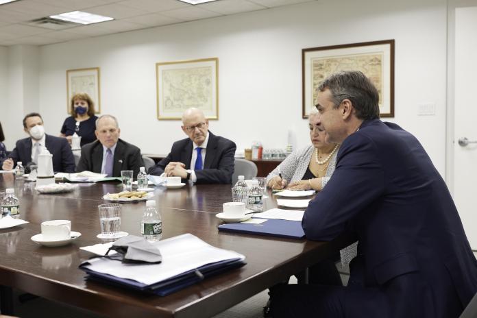 Συναντήσεις Κυρ. Μητσοτάκη με αμερικανο-εβραϊκές οργανώσεις