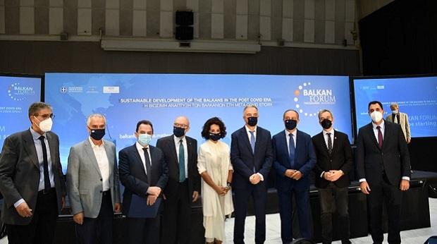 Πρώτη μέρα εργασιών του 3ου Balkan Forum για τη «βιώσιμη ανάπτυξη στην μετά Covid εποχή» – Αναζητώντας ένα διασυνοριακό Green Deal